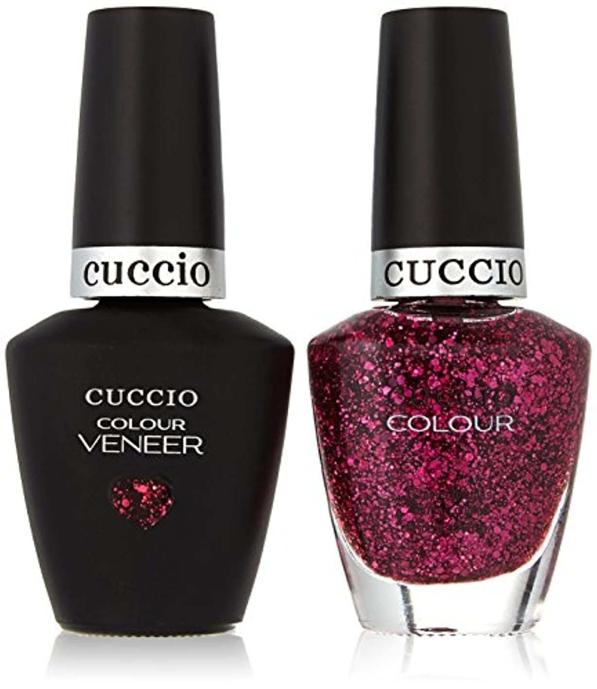 側面くま効率Cuccio MatchMakers Veneer & Lacquer - Fever of Love - 0.43oz/13ml Each