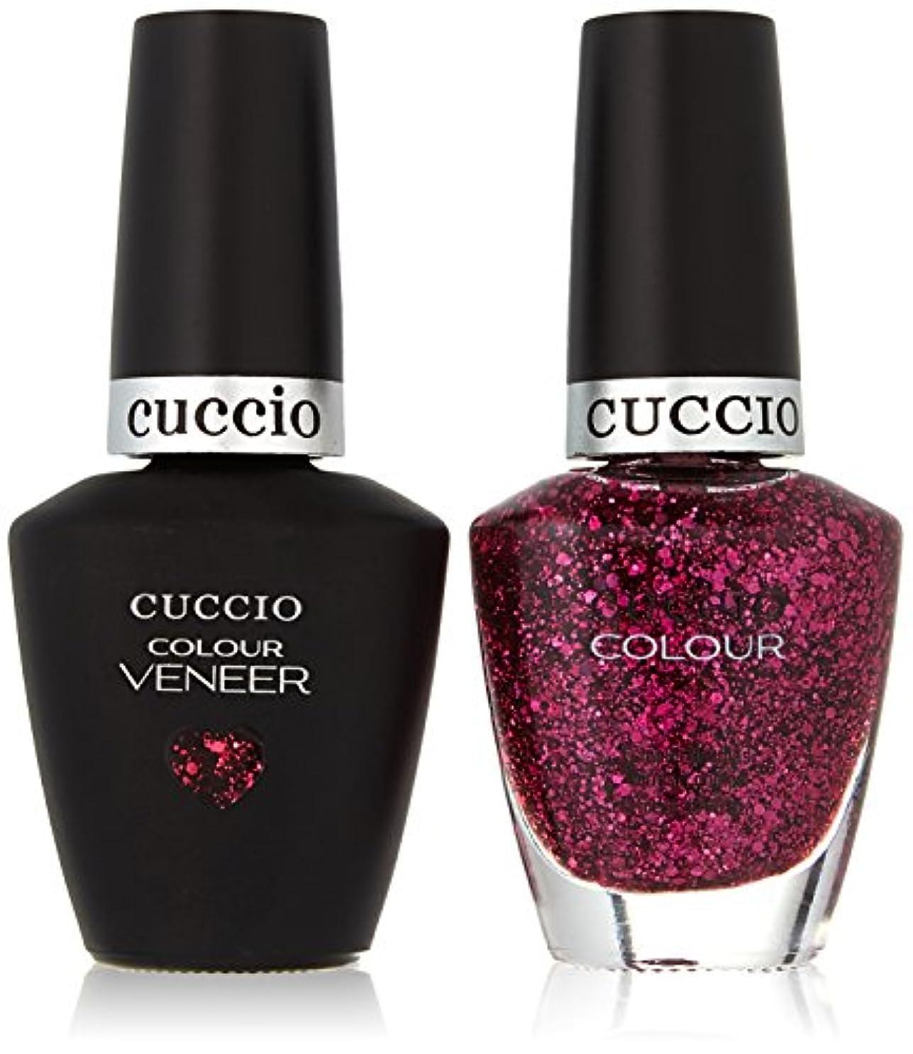 知覚できるステップ事実上Cuccio MatchMakers Veneer & Lacquer - Fever of Love - 0.43oz/13ml Each