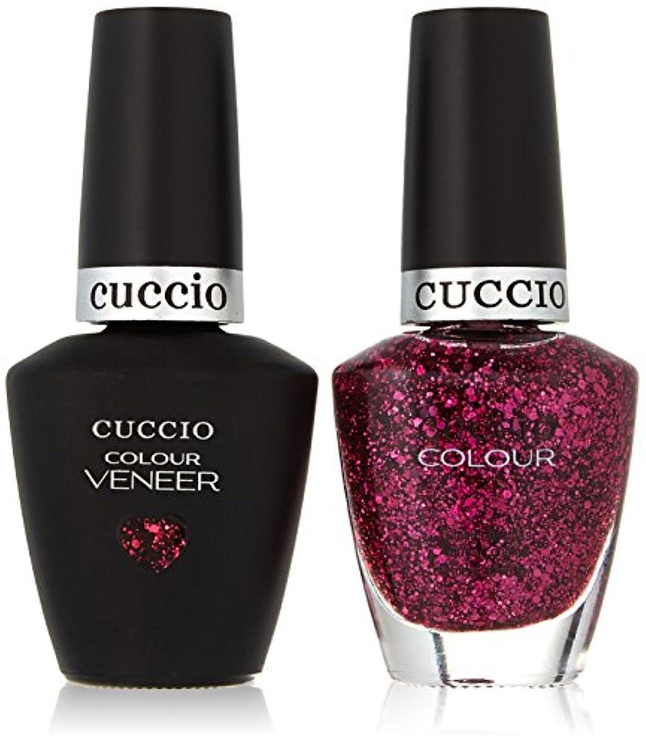 モディッシュ脳頂点Cuccio MatchMakers Veneer & Lacquer - Fever of Love - 0.43oz/13ml Each
