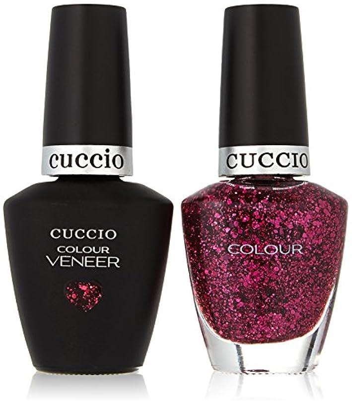 郵便局逆ヶ月目Cuccio MatchMakers Veneer & Lacquer - Fever of Love - 0.43oz/13ml Each