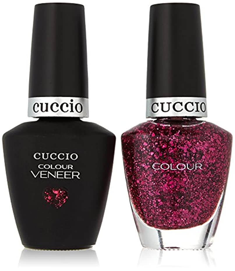 凶暴な真向こうマークダウンCuccio MatchMakers Veneer & Lacquer - Fever of Love - 0.43oz/13ml Each
