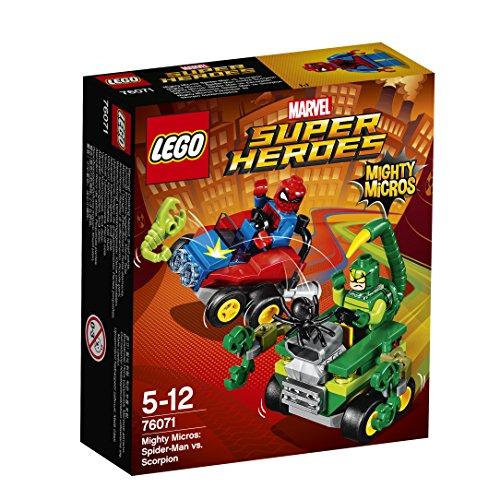 [해외] 레고(LEGO)슈퍼히어로즈 마이 T 마이크로 포스:스파이더맨 VS 스콜피온 76071-76071 (2017-02-03)