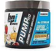 BPI Sports Pump Hd Pre-Training Formula 20 Serve, Wicked Fruit Blast, Wicked Fruit Blast 200 grams