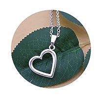小粒ハートネックレス、愛ネックレス、繊細なNeckalce、シンプルなネックレス、毎日ジュエリー、ネックレスの友達