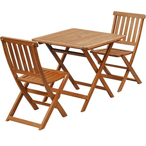 RoomClip商品情報 - 山善(YAMAZEN) ガーデンマスター フォールディングテーブル&チェア(3点セット) VFC-T75A/VFC-C3042JE
