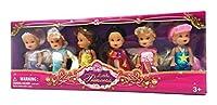 Little Princess Set of 6 Look-A-Like Dolls [並行輸入品]
