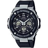 CASIO(カシオ) G-SHOCK G-ショック G-STEEL Gスチール GST-W300-1A ブラック×ブラウン 腕時計 海外モデル メンズ [並行輸入品]