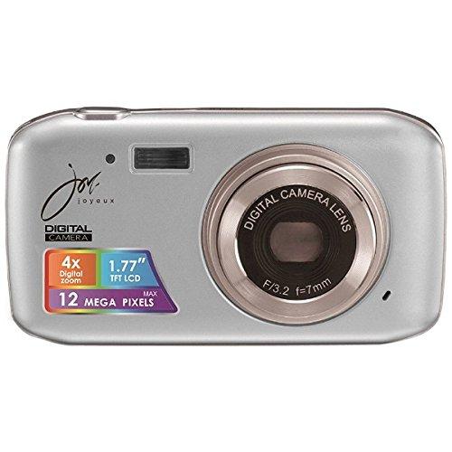 デジタルカメラ 12 MEGA PIXELS シルバー JOY50SV ジョワイユ -