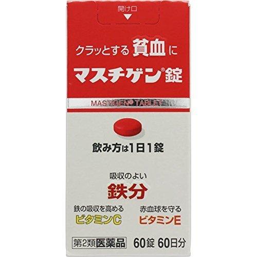 【第2類医薬品】マスチゲン錠 60錠