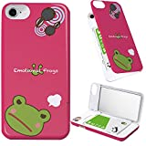 iPhone8 iPhone7 iPhone6 iPhone6s ケース ミラー 付き 蛙 アマガエル カエル ピンク ミラーケース 動物 アニマル アイフォン8 アイフォン7 アイフォン6 アイフォン6s カバー どうぶつ イラスト 鏡付き iPhoneケース