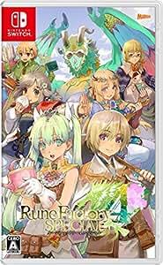 ルーンファクトリー4スペシャル -Switch 【Amazon.co.jp限定】オリジナルポストカード20種セット付&オリジナルデジタル壁紙(PC・スマホ) 配信
