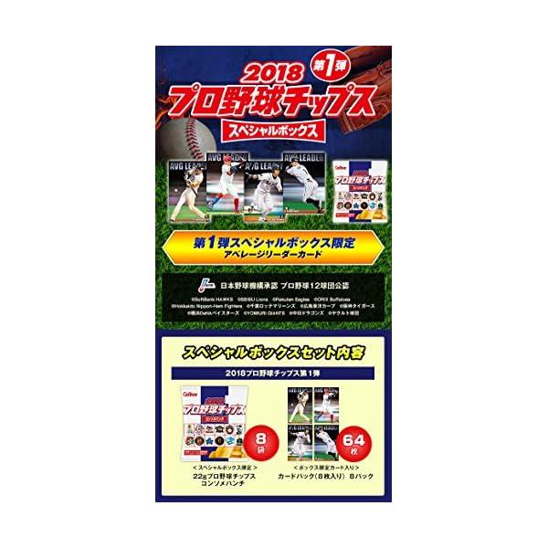 カルビー 2018プロ野球チップス スペシャル...の紹介画像4