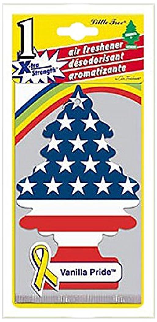 メンタープロフィール教師の日Little Trees X-TRA STRENGTH エアーフレッシュナー Vanilla Pride(1P) U1P-10645