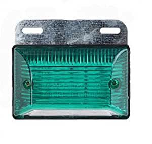 LED サイド マーカー 24V 各種 カラー ダンプ カー トレーラー デコトラ 等 に (緑 4個セット)