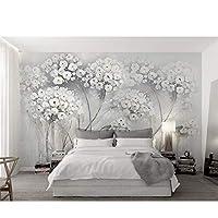 花の壁紙壁画ウォールプリントデカール壁壁画 208x146cm