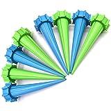 (VAリンクス)VAlinks リサイクル自動給水キャップ8個組 ペットボトル対応 繰り返し使用可能 土にさしておくだけ 自動水分量調節 ガーデニング用品 野菜・植物などの留守用に