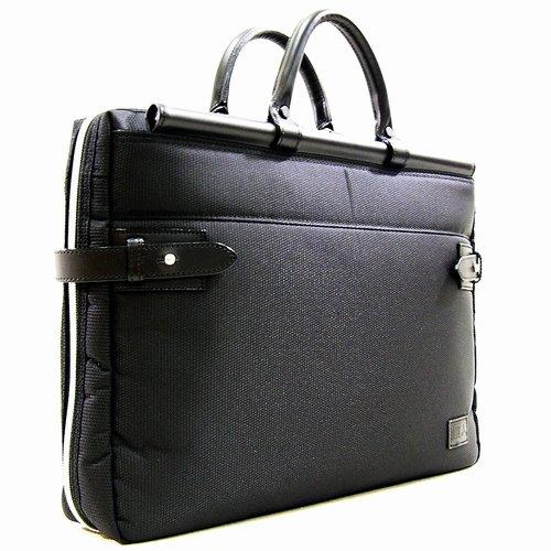織人[オリジン]多機能ビジネスバッグ 天棒ビジネスバッグ PC対応 メンズ ブラック