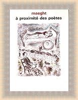 ポスター マルク シャガール A Proximite Des Poetes 1986 額装品 ラルゴフレーム(ゴールド)