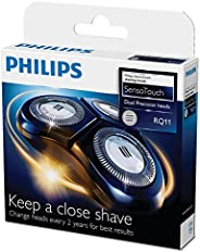 Philips DualPrecision Replacement Electric Shaving Head with GyroFlex 2D System and Low-Friction SkinGlide, RQ