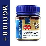 はちみつ マヌカハニーMGO100+ マヌカヘルス 250g 日本語ラベル 正規輸入品