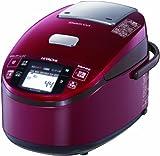 HITACHI 圧力&スチームIHタイプ IHジャー炊飯器 メタリックレッド RZ-KV100K-R