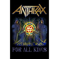 Anthrax ポスター For All Kings band Logo 新しい 公式 Textile Flag 104 x 65cm
