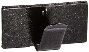 エーモン 配線止め金具(黒)  10.0×19.5mm 30個 E675