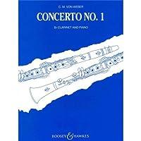 Carl Maria Von Weber: Clarinet Concerto No.1 In Fm (Clarinet/Piano) / カール・マリア・フォン・ウェーバー: クラリネット協奏曲第1番ヘ短調 クラリネット/ピアノ 楽譜