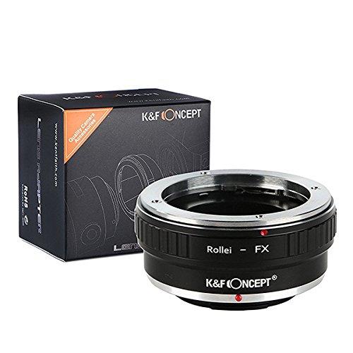 【国内正規品】 K&F Concept ローライQBMマウント - 富士フィルムXマウントアダプター QBM-FX