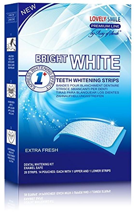 選出する時間記念28 Teeth Whitening Strips | Lovely Smile Premium Line Professional Quality - NEW Non-Slip Tech - Teeth Whitening...