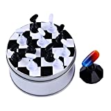 NICOLE DIARY 12本 練習用 スタンド ネイルチップ チェスボード 磁気 クリスタル プラクティス ディスプレイ サロン ネイルアート セルフネイル クリスタル プラクティス 練習 ディスプレイ サロン [並行輸入品]