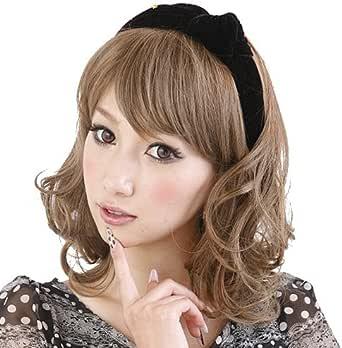 Angelique(アンジェリーク) ウィッグ ボリュームポップ カール ショート 多めカールでPOPなスタイル 専用ウィッグネット付