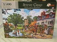 Steve Crisp A Village in Summer by Steve Crisp