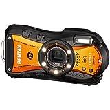 PENTAX 防水デジタルカメラ Optio WG-1 GPS シャイニーオレンジ 約1400万画素 10m防水 OPT…