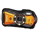 PENTAX 防水デジタルカメラ Optio WG-1 GPS  シャイニーオレンジ 約1400万画素 10m防水 OPTIOWG-1GPSOR
