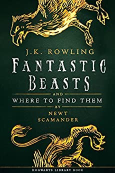 fantastic beasts and where to find them book. fantastic beasts and where to find them hogwarts library book by rowling t