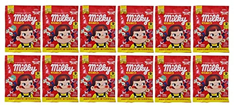 発症勇者セッションミルキー入浴剤 バニラミルクの香り(ペコちゃん)50g×12包セット