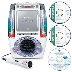 Singing Machine カラオケマシーン AGUA カラオケ ホワイト SML605W