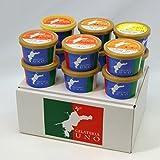 ジェラート専門店ジェラテリアUNO 愛媛産高級柑橘ジェラート アイス 6種類12個Aセット のし メッセージカード対応