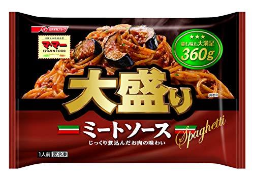 [冷凍] 日清フーズ マ・マー大盛りスパゲッティ ミートソース 360g