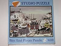 Bits andピース1000 Piece Studio Puzzle : Coming Home for the Holidays by Sharon Ascherl