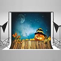ハロウィン 背景 夜 月 パンプキン ランプ 写真 背景 ハロウィン 写真スタジオ小道具
