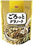 日清シスコ ごろっとグラノーラきなこ仕立ての充実大豆 500g×6袋