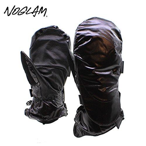 (ノーグラム)NOGLAM 2015年モデルnog-119 グローブ THE MOUNTAIN IICUT MITTEN/BLACK SHINY 日本正規品 ミトン M