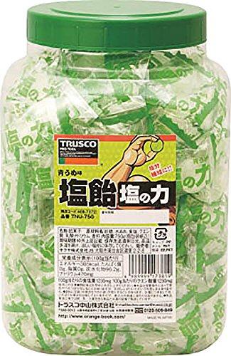 TRUSCO 塩飴 塩の力 750g 青梅味 ボトルタイプ TNU750