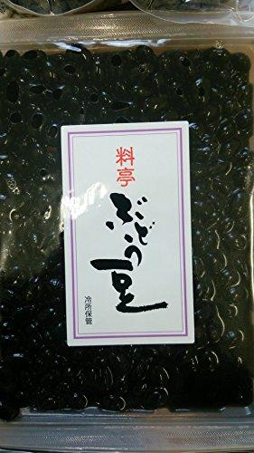 期間限定 料亭ぶどう豆レトルト 1kg(固形700g) 黒豆甘露煮 業務用 煮豆