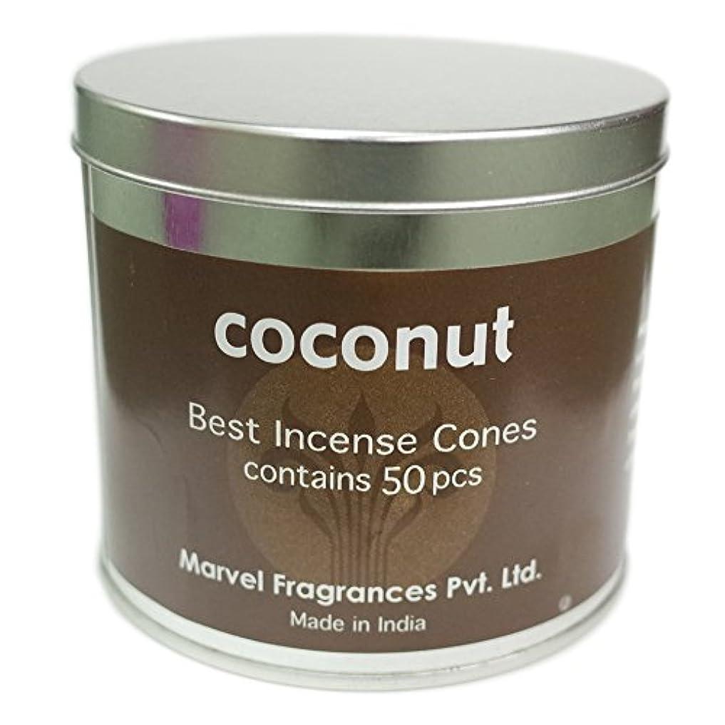 横に可塑性切り離すコーン ココナッツ