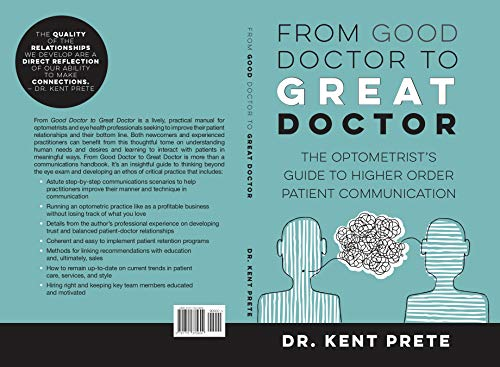 amazon co jp from good doctor to great doctor the optometrist s