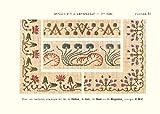 Bibliotheque D・M・C. アンティークDMC復刻図案シリーズ 刺しゅうで旅するヨーロッパ2~小さなフラワーガーデン~ 画像