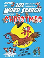 101 Word Search for Kids: SUPER KIDZ Book. Children - Ages 4-8 (US Edition). Blue Scared Turkey, Christmas Words with custom art interior. 101 Puzzles w solutions - Easy to Hard Vocabulary Words -Unique challenges and learning for fun activity time! (Superkidz - Christmas Word Search for Kids)